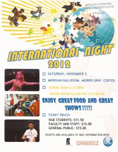 International Night SIUE 2012