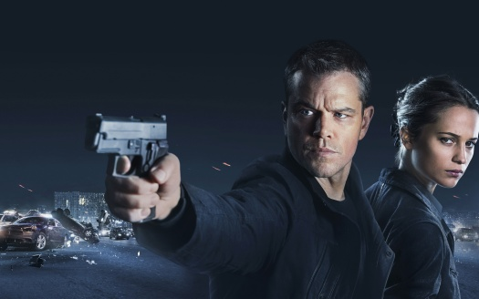 """""""Jason Bourne"""" 2016 – Enemies are,Within"""