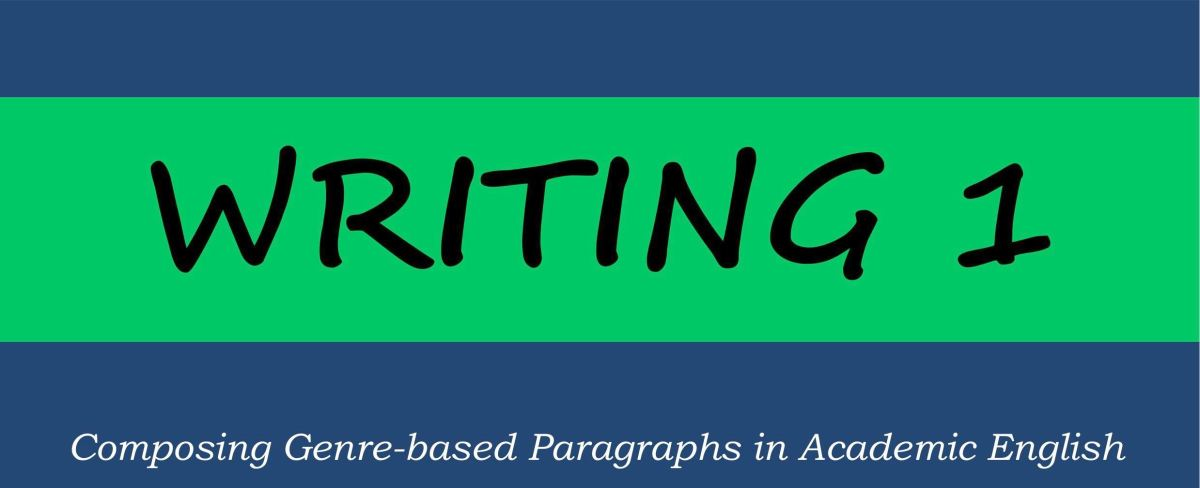 Learning Materials: ENGLISH PARAGRAPH WRITINGCourse